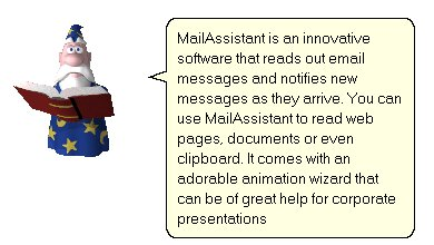 MailAssistant's animation wizard